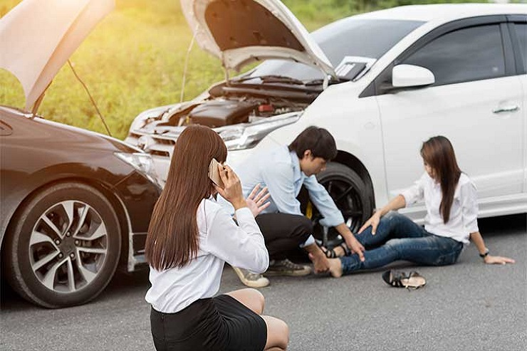 Falls Church, VA Car Accident Injuries